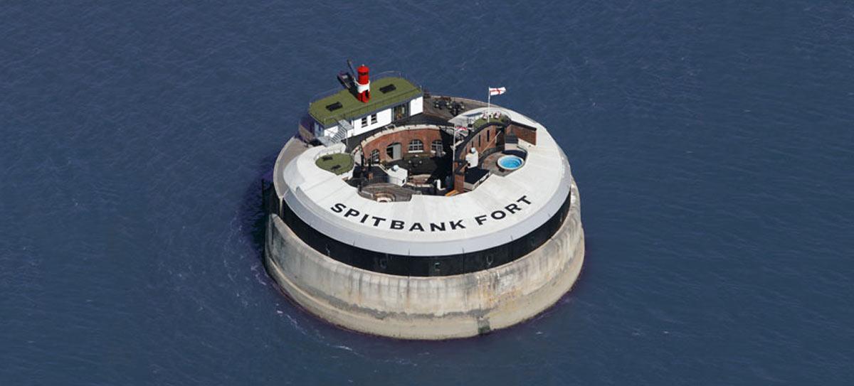 Spitbank Fort Rib Challenge